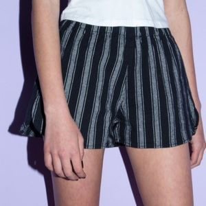 Brandy Melville Pinstripe SAMI Shorts